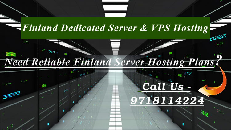 Finland VPS Server and Dedicated Server