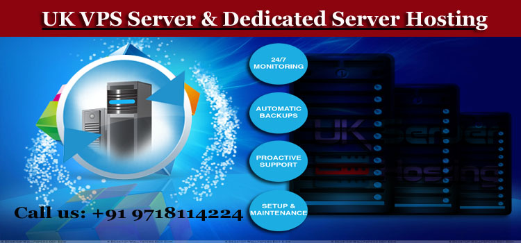 Customize plans for VPS Server & Dedicated Hosting in UK Location