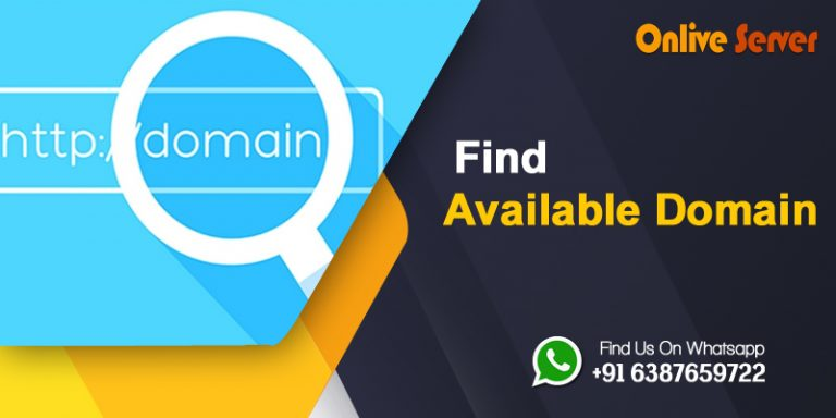 A Quick Guide On How To Find Available Domain Name For Your Website.